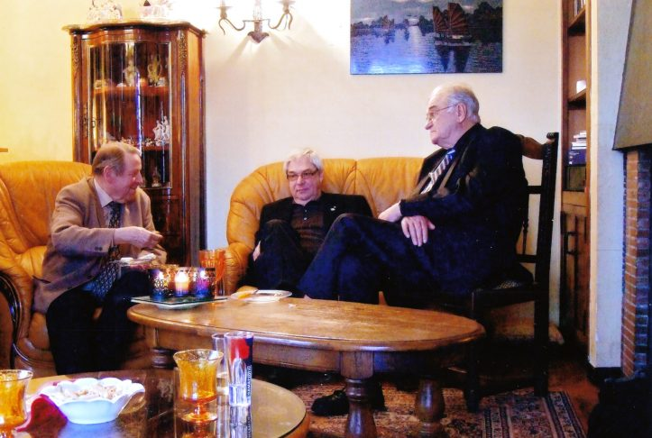 Karl-Herrmann Korfsmeier et Claude Mattweus